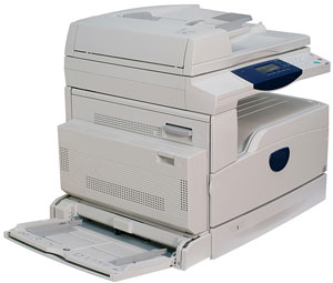 multifunction printer with closed scanner cover